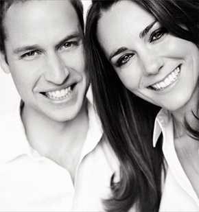 O príncipe William e Kate Middleton são descendentes do rei Garcia III, de Navarra, do qual os Uzeda y Luna também descendem. (Foto: Mario Testino)