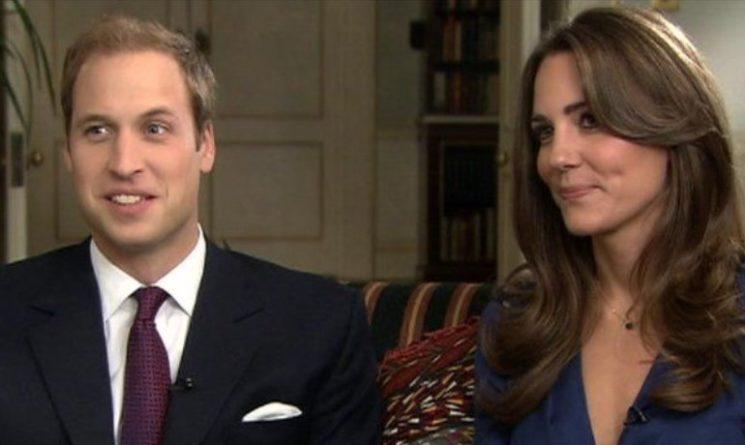 Príncipe William e Kate e têm ancestrais em comum