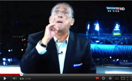 Galvão Bueno briga ao vivo com Renato Maurício Prado no SporTV