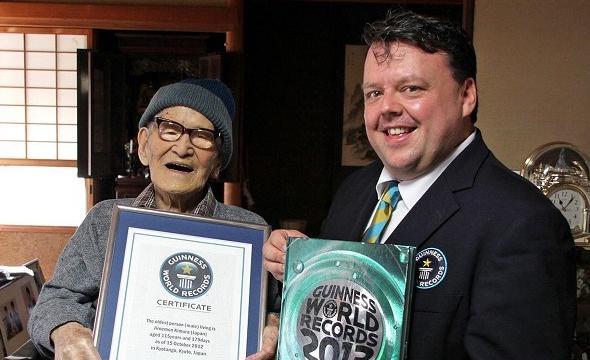 Japonês de 116 anos é a pessoa mais velha do mundo