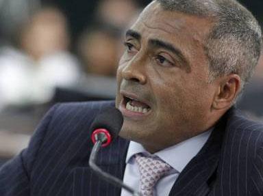 Romário gravou críticas à Odebrecht tendo como pano de fundo a reforma do Maracanã