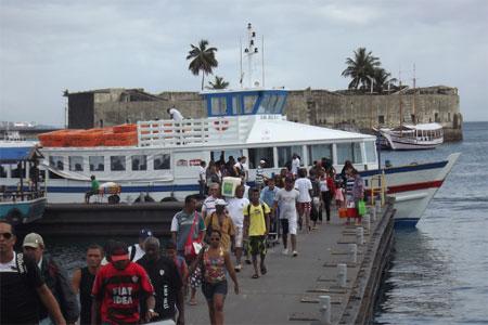 O embarque no Terminal Náutico é tranqulo (Foto: Astramab/Divulgação)