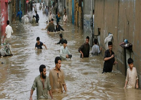 Paquistão já tem mais de 2 mil habitações danificadas
