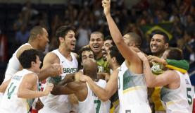 Equipe brasileira vence o Canadá e conquista o ouro no Pan. Na calssificação geral dos jogos, o Brasil ficou na terceira colocação (Divulgação/Comitê Olímpico Brasileiro)