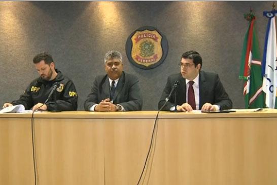A Polícia Federal e o procurador federal Athayde Ribeiro Costa afirmaram que o  Othon Luiz Pinheiro recebeu R$ 4,5 milhões em propina. (Foto: Reprodução/Imagem TV)