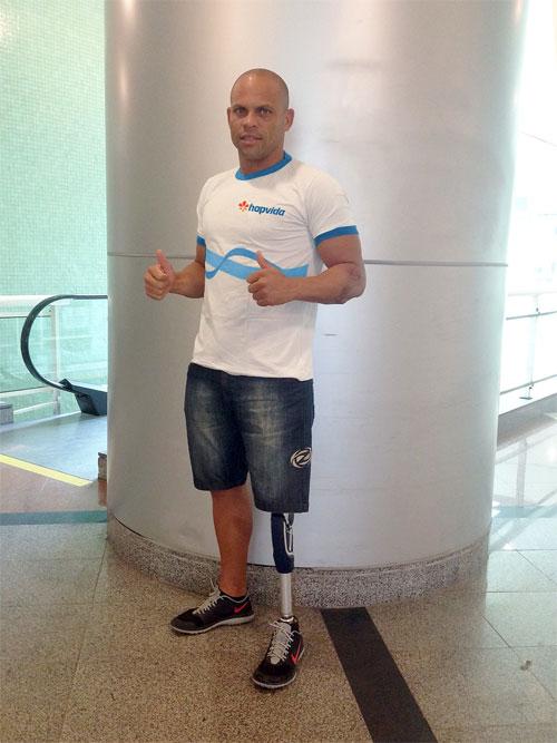 Destaque no esporte cearense, Elione Sousa, hoje, é reconhecido no Brasil e no mundo através da sua história de superação