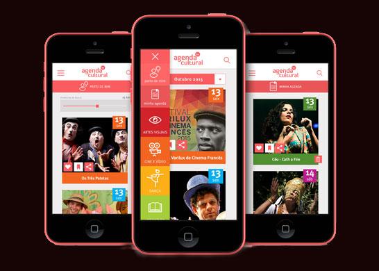 O App Agenda Cultural Bahia facilita a descoberta dos eventos que acontecem, no raio de pesquisa escolhido.