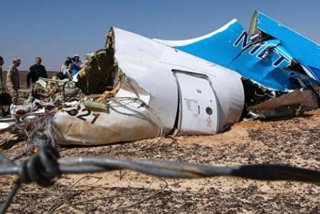 O avião Airbus A312 russo explodiu quando voava da cidade de Sharm el-Sheikh, no Egito, para São Petersburg (Foto: Maxim Grigoryev/Agência Sputinik)