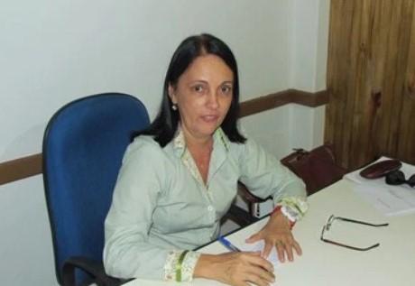 """Prefeita de Maraú, Maria das Graças """"Gracinha"""" Viana"""