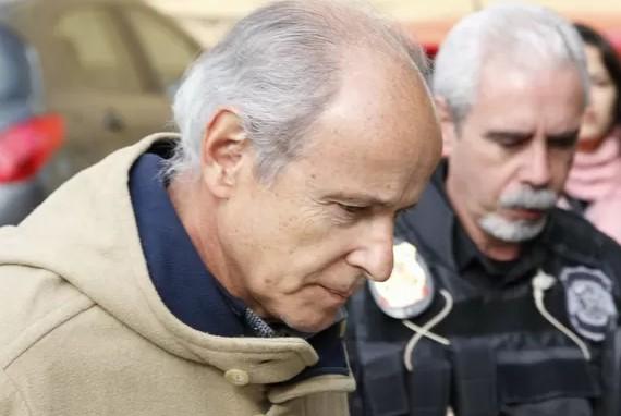 Otávio Marques de Azevedo foi preso dia 19 de junho de 2015 (Foto: Cassiano Rosário/Futura Press/G1/Reprodução)