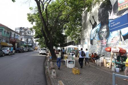 No total, 267 ruas do Centro Antigo de Salvador passarão por melhorias na infraestrutura urbana (Foto: Pedro Moraes/GOVBA)