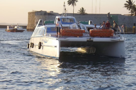 Previsão de sol forte na Ilha faz movimento   na travessia Salvador-Mar Grande crescer
