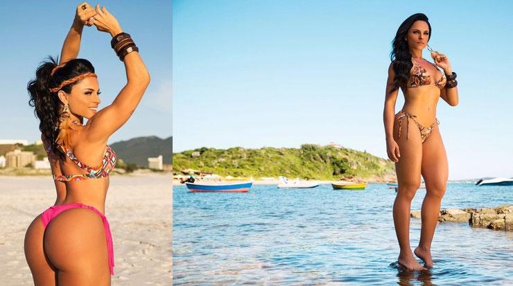 Ex-Zorra Total Michelle Fernandes vai voltar à TV, na novela 'Haja coração'