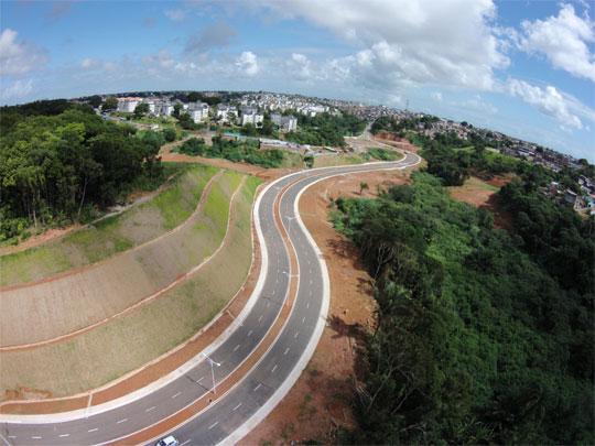 Maior obra viária feita pela Prefeitura custou R$ 60 milhões
