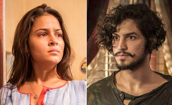 Olívia diz que está namorando e evita Miguel (Foto: Felipe Monteiro/ Inácio Moraes/ TV Globo/Divulgação)