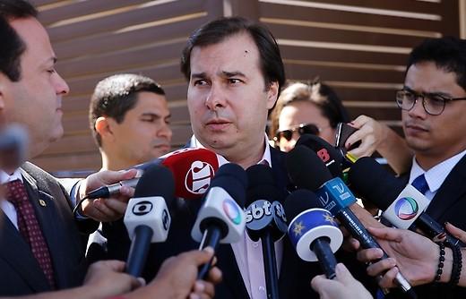 Presidente da Câmara, Rodrigo Maia. (Foto: Agência Brasil)