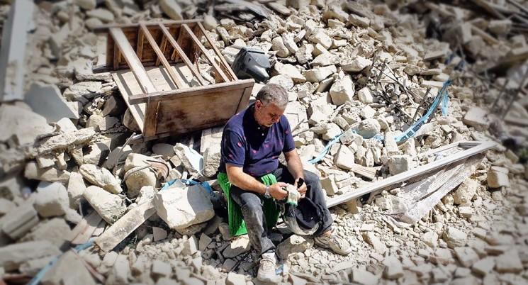 Trremoto na Itália deixa 38 mortos. (Foto: Reprodução/Correiere DeLLa Sera)