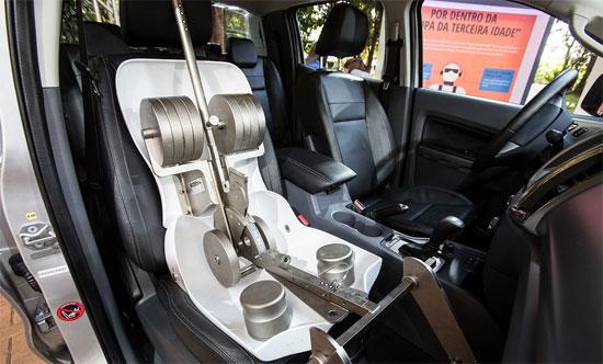 No segundo ambiente do Ford Design Feeling, batizado de Inspirações, designers apresentaram as tendências de onde extraem ideias para as novas criações.