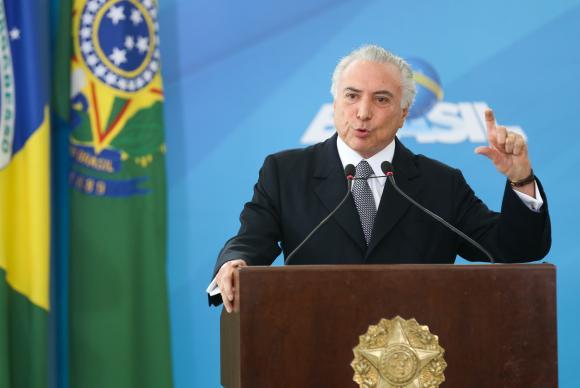 Ao anunciar ações de gestão na saúde pública, o presidente Michel Temer já havia desmentindo a jornada de 12 horas de trabalho (Foto: Antonio Cruz/ Agência Brasil)
