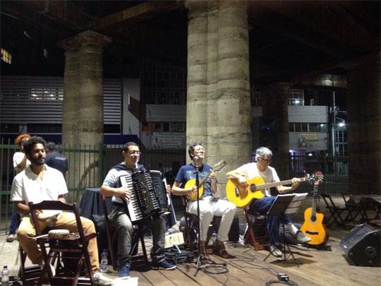 Grupo Cozinha Baiana é uma das atrações da programação cultural.