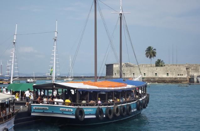 As escunas voltam a sair para o passeio pelas ilhas (Foto: Astramab/Divulgação)
