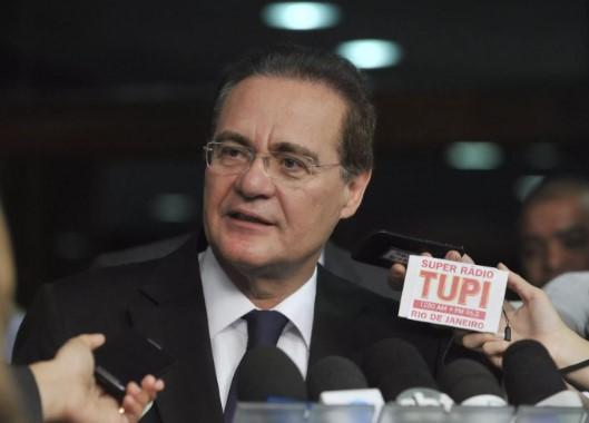 Aliados torcem para que Renan não seja declarado réu e não destituído da presidência