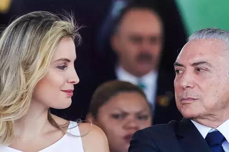 Além de Temer e Marcela, a comitiva brasileira é composta por três ministros.