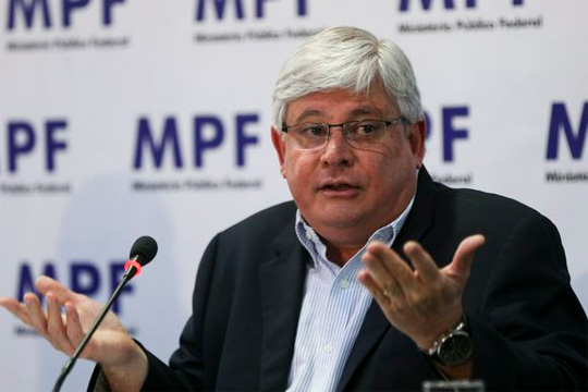 Rodrigo Janot, tem provas contra  Marcello Mille (Foto: Marcelo Camargo/Agência Brasil)