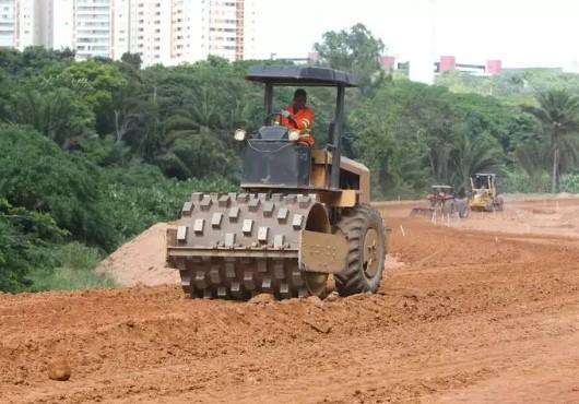 """A  previsão do governo é que no final de 2017 e início de 2018, entreguemos a obra para a população"""".  ((Foto: Manu Dias/GOVBA)"""