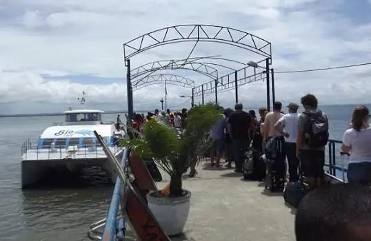 Terminal de Morro de São Paulo: turistas não vão pagar mais R$ 15 para visitar a Ilha.