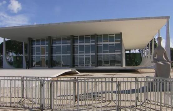 O trabalho foi concluído na madrugada deste sábado  e ficará em uma sala especial no STF, em Brasília. (Foto: Reprodução)