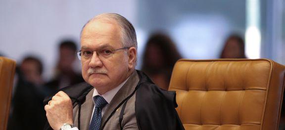 Ministro Edson Fachin, do Supremo Tribunal Federal (STF)  e relator da Lava Jato  (Foto: José Cruz/Agência Brasil )