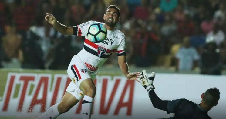 O São Paulo abriu o placar logo com um minutos de jogo, mas teve muita dificuldade para ampliá-li. (Foto: São Paulo FC/Divulgação)