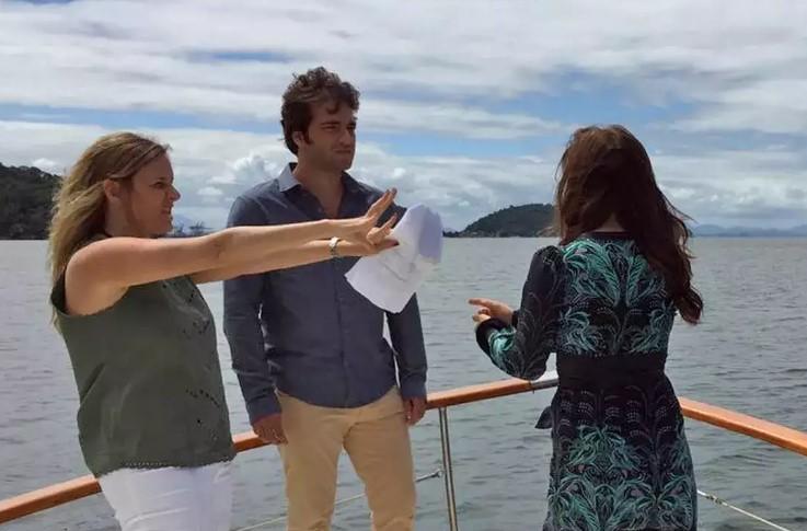 'Só Maria Adelaide Amaral e eu sabemos qual é a versão verdadeiro', diz autor Vincent Villari'  (Foto: TV Globo/Divulgação)