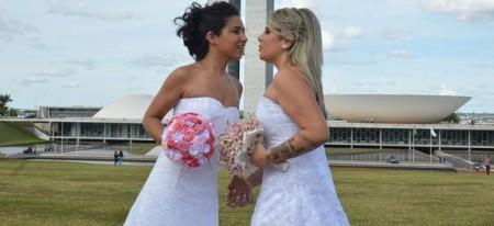 Em 2011, o Supremo Tribunal Federal reconheceu, por unanimidade, a união estável entre casais do mesmo sexo como entidade familiar. (Foto: Agência Brasil)