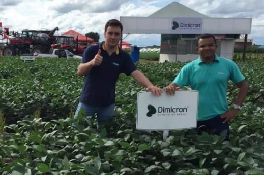 a empresa também apresentará in loco resultados do uso do DimiLOM, produto direcionado para condicionamento do solo