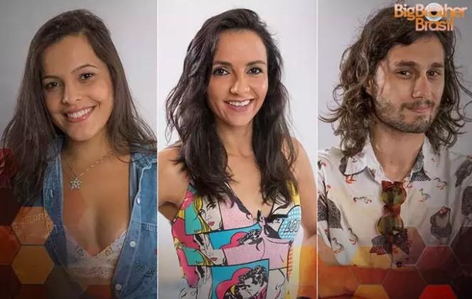 Emilly, Marinalva e Pedro enfrentam Paredão triplo no BBB17 (Foto: TV Globo/Divulgação)