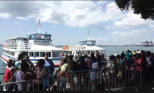 Embarque nos terminais da travessia Salvador-Mar Grande é tranquilo  (Foto: Divulgação)