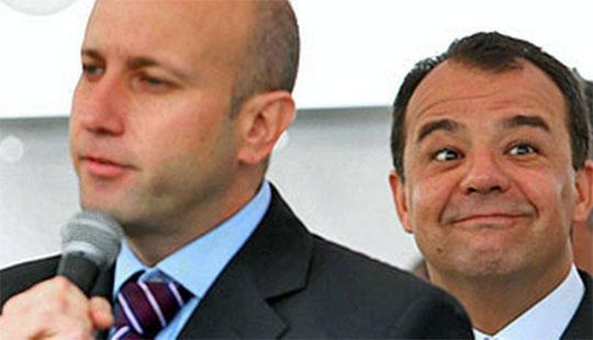 O ex-secretário Sérgio Côrtes e Sérgio Cabral (Foto: Reprodução)