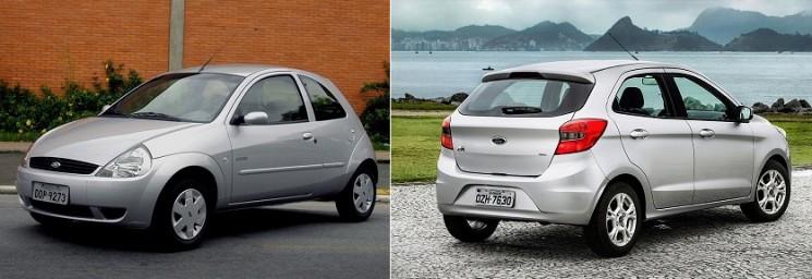 Ford KA comemora 1 milhão de unidade produzidas no Brasil