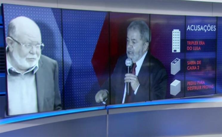O ex-presidente da construtora OAS, Léo Pinheiro, e o ex-presidente Lula.