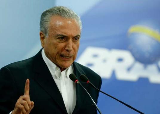 Temer fez novo pronunciamento na TV neste sábado. (Foto: Agência Brasil)