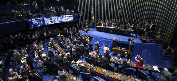 Análise de decisão da Suprema Corte, que também determinou o recolhimento domiciliar noturno do tucano, deve ser feita na próxima semana.  (Marcelo Camargo/Agência Brasil)