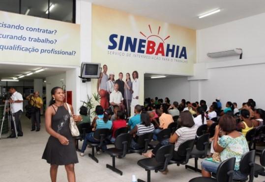 As oportunidades divulgadas são apenas algumas das que estão disponíveis nas unidades do SineBahia.
