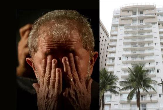 Lula recebeu R$ 2,252 milhões em propina relacionadas ao triplex no Guarujá, segundo a sentença.