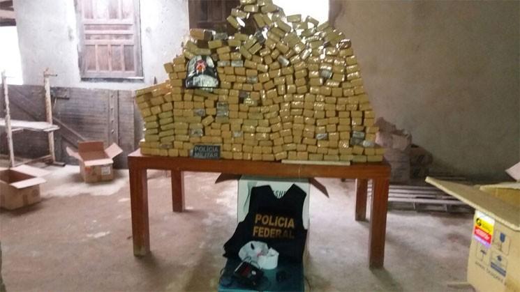 A polícia acredita que o material seria distribuído em Salvador e na Região Metropolitana. (Foto: SSP/Divulgação)