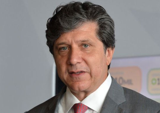 argentino José Luis Menghini, no comando da empresa, a Vinci Aiports do Brasil