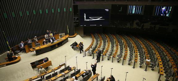 As duas PECs enfrentam dificuldades para avançar no plenário, pois nenhuma delas atingiu o mínimo necessário de 308 votos  (José Cruz/Agência Brasil)