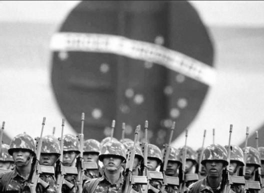 As regiões Norte e Centro Oeste, somadas, têm o maior índice de apoio aos militares (44,8%), mas o Sudeste é segundo com 43,2%. (Foto: Reprodução/Internet)