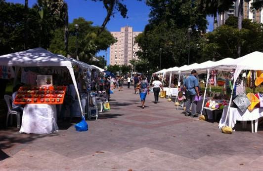 A  Feira das Artes na Primavera será aberta às 9h no Campo Grande.